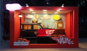 Pembuatan Booth Pameran Kiosk Display Produk